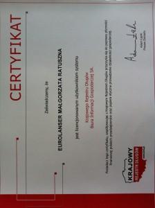 Certyfikat KRD